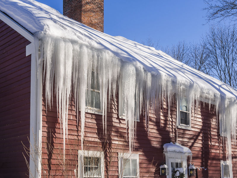 Snow Can Damage Your Roof